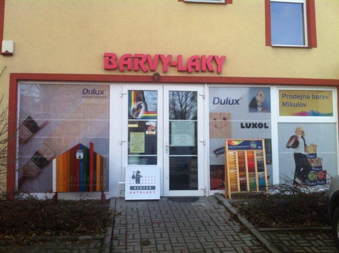 Barvy Laky -  Prodejna Mikulov