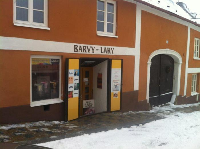 Prodejna Mor. Budějovice - u kostela